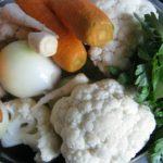 ingrediente pentru supa de conopida simpla si rapida