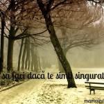 depresia, singuratate, peisaj de iarna, ceata, frig