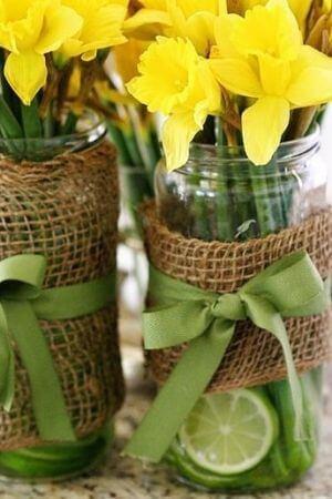 buchet de flori de Paști