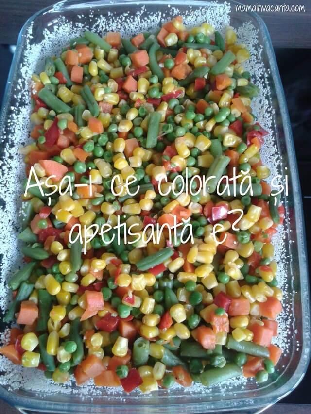 budinca de amestec mexican la cuptor