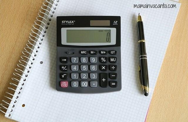 bugetul familiei, diagramă, tabel, excel, caiet