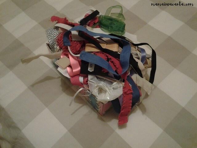 flylady, bara de haine, cutia de accesorii pentru cusut