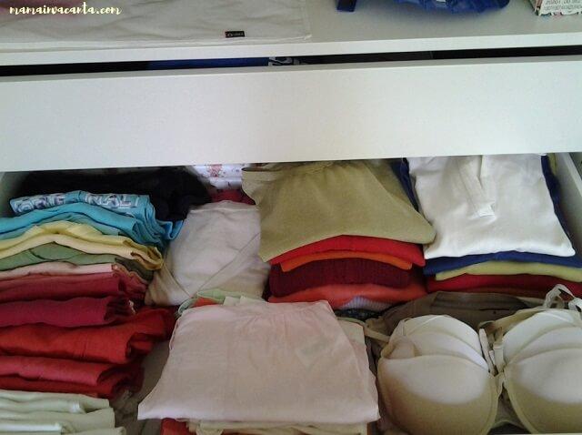 flylady, dormitor, sertarele garderobei