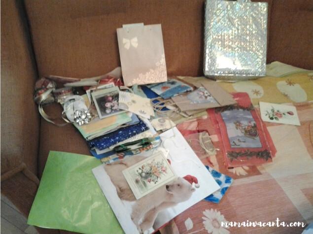 flylady, zona living, dulapuri suspendate, pungi și panglici cadouri