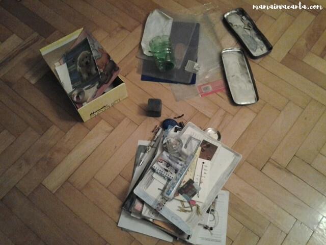 sertarele din living, flylady, marunțișuri
