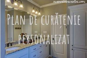 plan de curatene personalizat