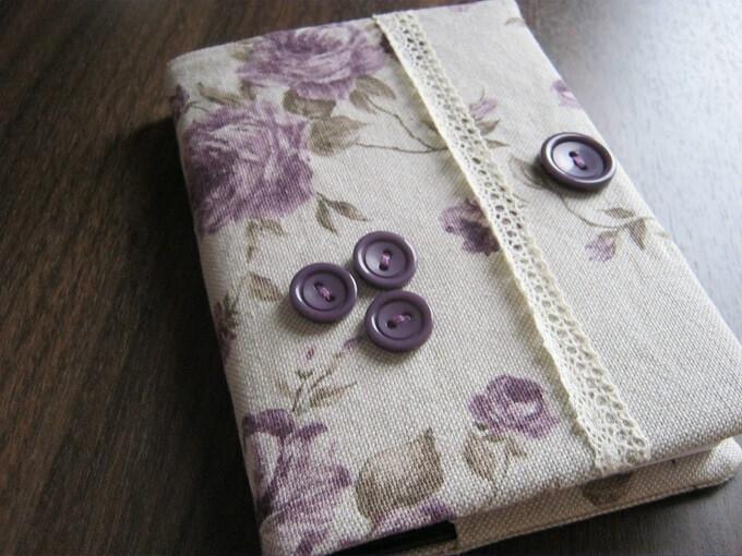 coperta pentru agenda handmade