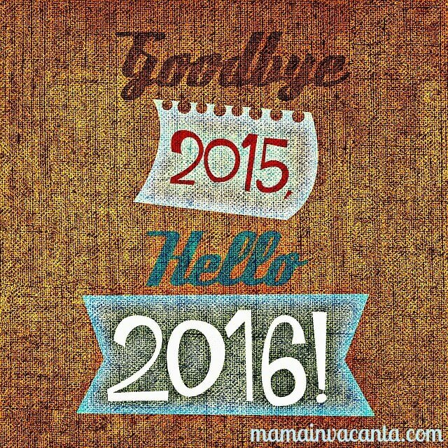 succes in anul nou Goodbye 2015, hello 2016!