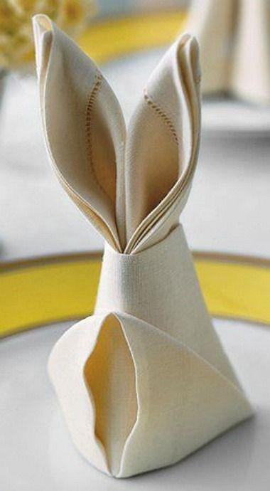 decorațiuni Paști din șervețel de masă