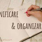 planificare, organizare